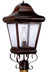 belmont post light outdoor copper lantern