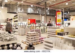 warehouse area of ikea furniture store hx21yk