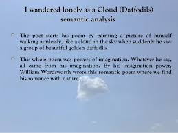 i wandered lonely as a cloud i wandered lloonneellyy