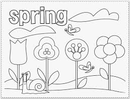 Spring Coloring Pages For Second Graders Murderthestout