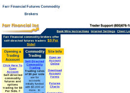 Farr Financial Inc Commodity Trading With Farr Financial