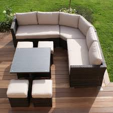 Amazing ... World Source Patio Furniture World Source Patio Furniture Warranty  Sectional Wicker Sofa In Black ...