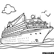 Boats And Ships Coloring Pages At Getdrawingscom Free For