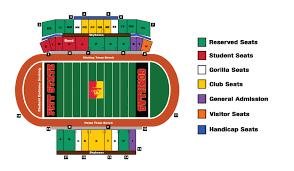 Missouri State University Football Stadium Seating Chart Ticket Office