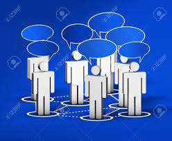 Network Design Online Forum Internet Community Social Network Forum And Online Group Concept