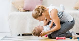 start exercising after childbirth
