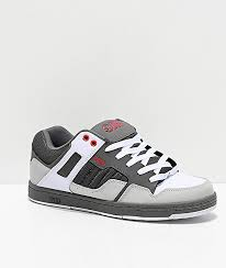 Dvs Size Chart Dvs Enduro 125 Charcoal White Red Skate Shoes