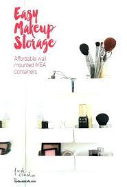 acrylic makeup organizer lipstick holder drawer insert divider sonny cosmetics ikea msia