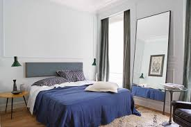 Mirror In The Bedroom Bedroom Use Oversized Mirror To Complement Bedroom Style