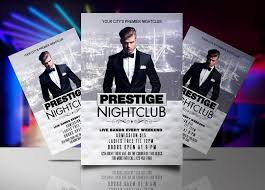 Prestige Nightclub Flyer Template | Streetz Myestro Beats