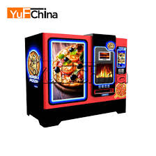 Automatic Pizza Maker Vending Machine Mesmerizing Chinese High Quality Let′s Pizza Vending Machine For Sale China