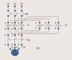 forward reverse motor control motor control operation and circuits motor control circuits forward reverse motor control