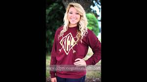 ddp monograms gifts 9 16 15 personalized shirts on deals