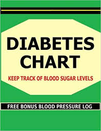 Diabetes Chart Keep Track Of Blood Sugar Levels In This
