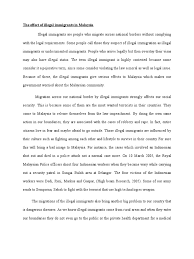 illegal immigrant essay immigration reform essay persuasive essay  the effect of illegal immigrants in final draft