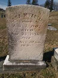 Lana Forbes McFarland (1804-1876) - Find A Grave Memorial