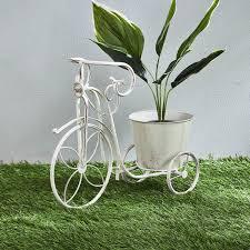 vista metal tricycle planter