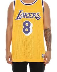 Adidas Hardwood Classics Retired Jersey Los Angeles Lakers Kobe Bryant 8 Yellow