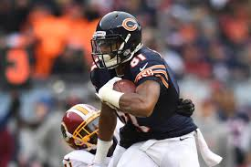 Chicago Bears Wr Depth Chart Chicago Bears 2018 Roster Turnover Wide Receiver Is The