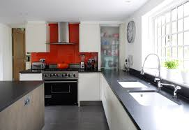 White Kitchen With Red Accents Kitchen Black And White Kitchen Ideas Unique Decor Black And