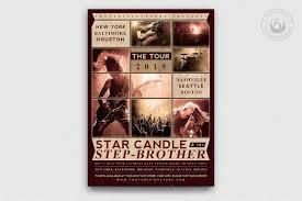 Concert Flyer Templates Free Live Concert Flyer Template V2 Free Posters Design For