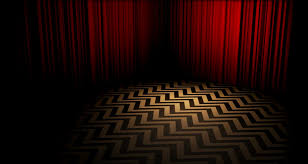 image of the creepy room in black lodge from twin peaks tv show