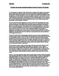 evaluate the impact and effectiveness of interest groups in us page 1 zoom in