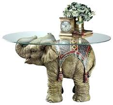 elephant table glass top elephant table with glass top elephant end tables table walnut legs glass elephant table glass