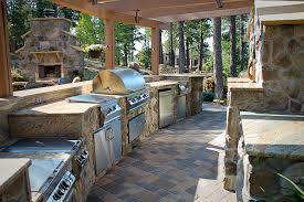 outdoor kitchens built in barbecues