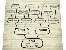 How To Make Family Tree On Chart Paper 5 Ways To Create And Display Your Family Tree Family Tree