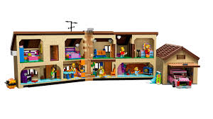 Simpsons Wallpaper For Bedroom Simpsons Lego House Officially Revealed The Toyark News