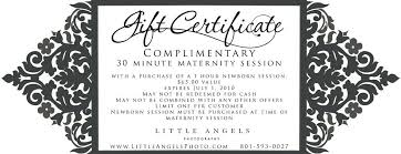 Photography Gift Certificate Template Free Printable Gift Certificates For Photography Download Them Or
