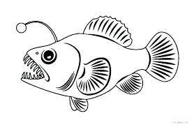 Fish Picture To Color Rainbow Fish Coloring Pages Printable Fish