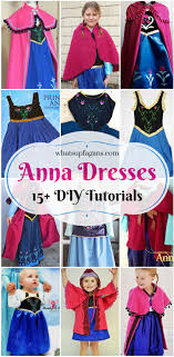 15 diy princess anna dress and cloak tutorials so awesome my daughters wants