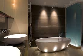 modern bath lighting. Unique Led Bathroom Lights Modern Bath Lighting E
