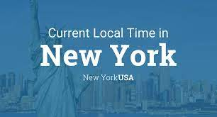 Current Local Time in New York, New ...