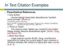 mla citations  6 in text citation