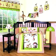 monkey pirate crib bedding jungle crib bedding monkey jungle piece crib bedding set free