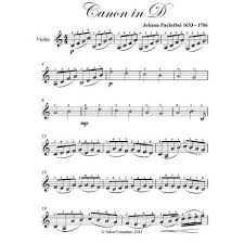 The left hand is pretty simple to play. Canon In D Easy Violin Sheet Music By Johann Pachelbel