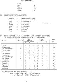 Units And Conversion Factors E J Roschke Propulsion