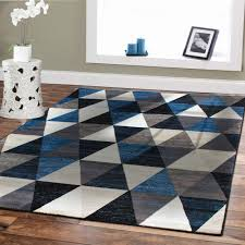 navy blue rug 8x10. Navy Blue Area Rug 8x10 Luxury Premium Rugs 8x11 Modern For Brown Sofa G