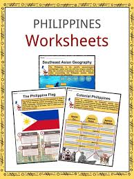 Philippines Facts, Worksheets, Geography, Climate & Culture For Kids