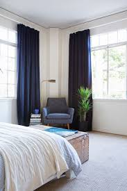 bedroom stylish best 25 navy blue curtains ideas on