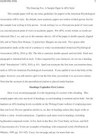 Apa Paper Heading Apa Headings 6th Edition Example Barca Fontanacountryinn Com