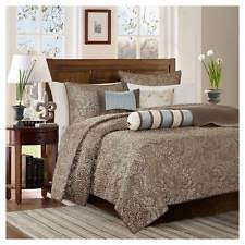 Jacquard Material Quilts, Bedspreads and Coverlets | eBay & Blue Whitman Jacquard Quilt Set (Full/Queen) 6pc Adamdwight.com