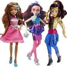 Jimusuhutu Doll 11 inch New Gốc Auradon Con Cháu Búp Bê Cô Gái Khớp Phim  Hoạt Hình Con Số Mô Hình Đồ Chơi Thời Trang cho Cô Gái Món Quà|Dolls