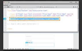 How to create a web form in Dreamweaver | Adobe Dreamweaver CC ...