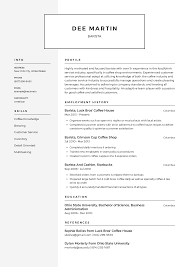 Awesome Infographic Functional Resume Examples Modern Executive Level Position Barista Resume Templates 2019 Free Download Resume Io