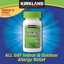 For dog and cat allergies! Works better than Benadryl ~ Use Zyrtec ...