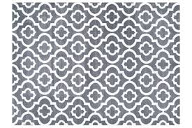 gray and white rug. Persian Area Rugs 3028 Moroccan Trellis Rug Gray And White